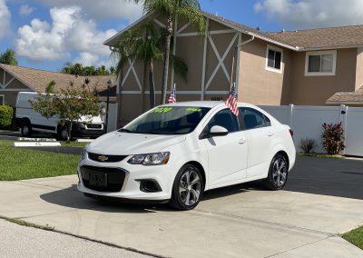 2020 Chevrolet Sonic Premier Sedan 4D